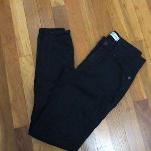 Madewell skinny black jeans